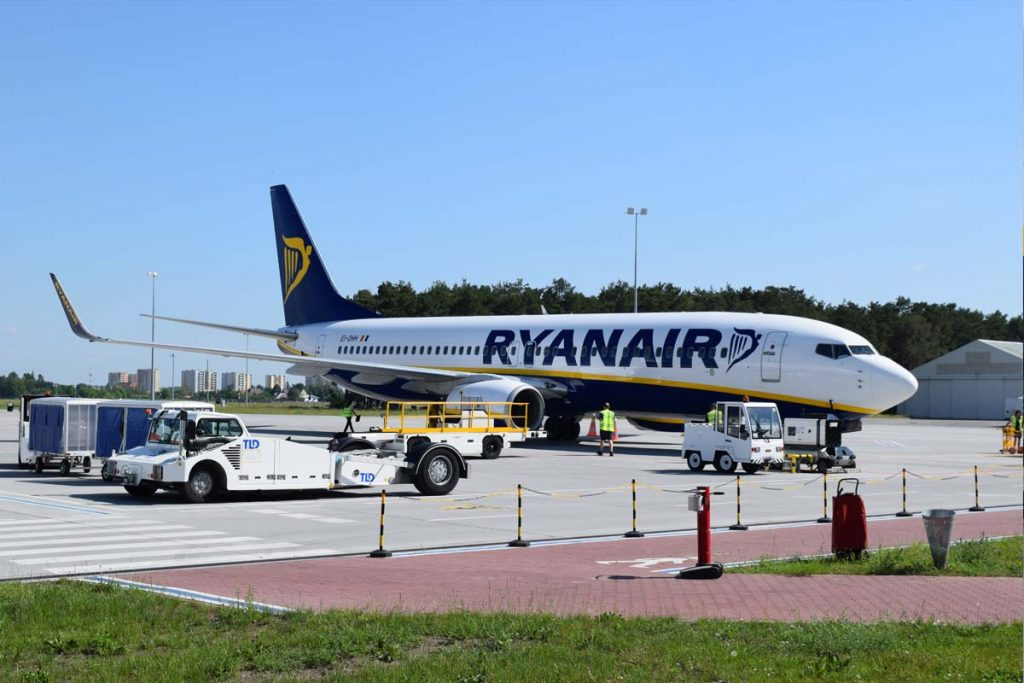Ryanair w Bydgoszczy