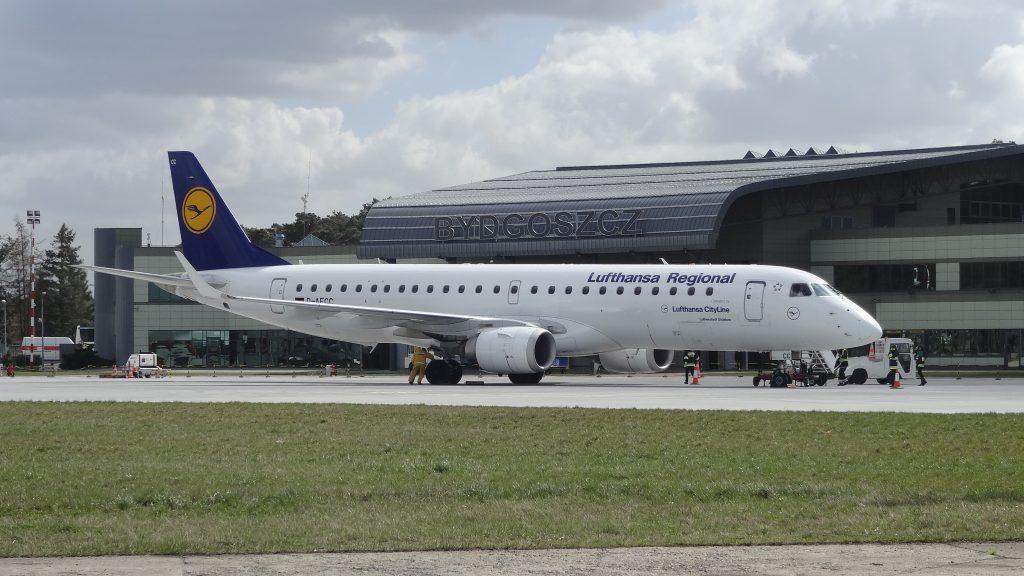 Lufthansa w Bydgoszczy