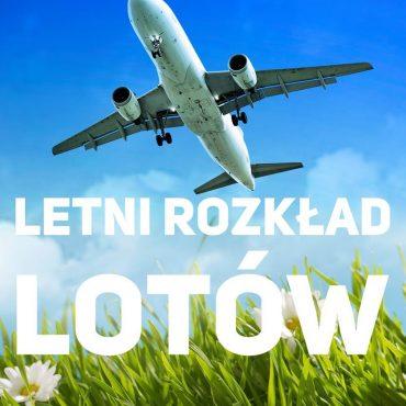 Letni rozkład lotów w Porcie Lotniczym Bydgoszcz