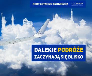 Dalekie podróże zaczynają się blisko! Leć z Bydgoszczy w Świat